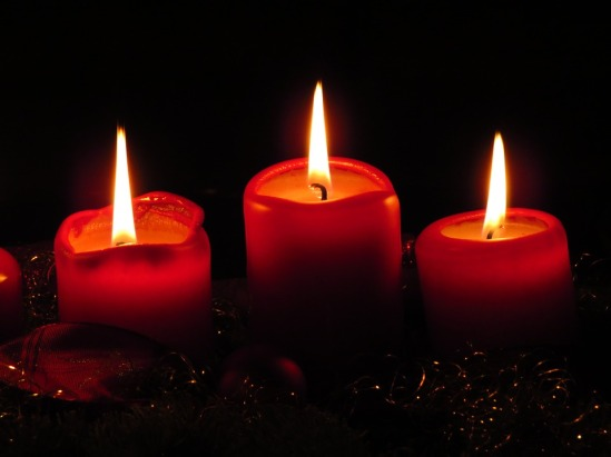 Flame Cozy Advent Quiet Candles Advent Wreath